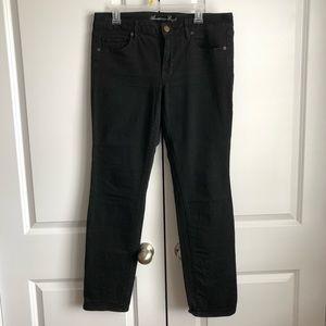 AE straight/skinny leg jeans (black)